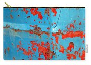 Abstrac Texture Of The Paint Peeling Iron Drum Carry-all Pouch
