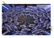 Abstract - Blue Diamonds Carry-all Pouch