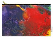 Abstract - Crayon - Andromeda Carry-all Pouch