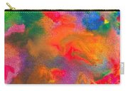 Abstract - Crayon - Melody Carry-all Pouch by Mike Savad