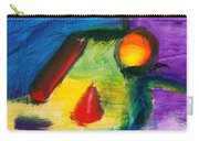 Abstract - Acrylic - Primitives Carry-all Pouch by Mike Savad