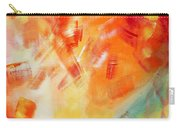 Abstract Art Colorful Bright Pastels Original Painting Spring Is Here I By Madart Carry-all Pouch