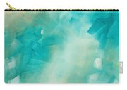 Abstract Art Colorful Bright Pastels Original Painting Spring Is Here II By Madart Carry-all Pouch