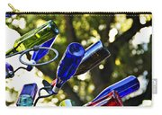 Abstract Bottle Structure Carry-all Pouch