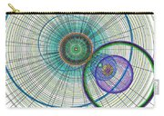 Abstract Circle Art Carry-all Pouch