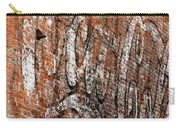 Abstract Coca Cola Sign Carry-all Pouch