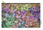 Abstract Colors Pale Carry-all Pouch