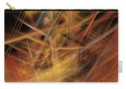 Abstract Crisscross Carry-all Pouch