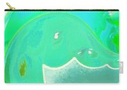 Abstract Down By The Sea  Carry-all Pouch