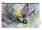 Abstract Dragonfly 11 Carry-all Pouch