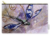 Abstract Dragonfly 9 Carry-all Pouch