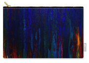 Abstract Evergreens Carry-all Pouch by Claire Bull