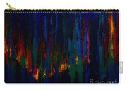 Abstract Evergreens Carry-all Pouch