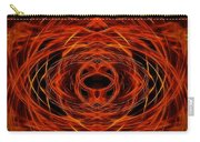 Abstract Fire Carry-all Pouch