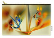 Abstract Flower 2 Carry-all Pouch