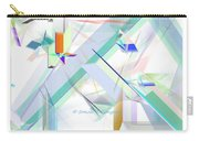 Abstract Flying Objects Carry-all Pouch