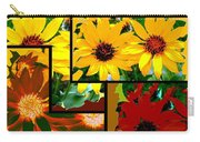 Abstract Fusion 99 Carry-all Pouch by Will Borden