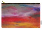 Abstract - Guash And Acrylic - Pleasant Dreams Carry-all Pouch