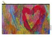 Abstract Heart Carry-all Pouch