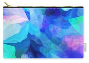 Abstract In Blues 052612 Carry-all Pouch