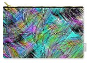 Abstract In Chalk Carry-all Pouch
