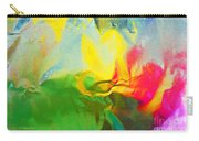Abstract In Full Bloom Carry-all Pouch