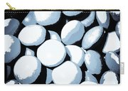 Abstract In Selenium Carry-all Pouch