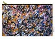 Abstract Interconnection Carry-all Pouch