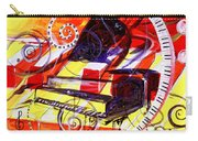 Abstract Jazzy Piano Carry-all Pouch