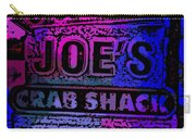 Abstract Joe's Crabshack Sign Carry-all Pouch