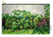 Abstract Landscape 6 Carry-all Pouch