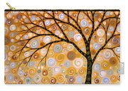 Abstract Modern Tree Landscape Dreams Of Gold By Amy Giacomelli Carry-all Pouch
