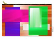 Abstract Number Three Carry-all Pouch