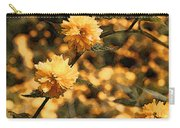 Abstract Of Yellow Flowers Carry-all Pouch