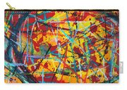 Abstract Pizza 1 Carry-all Pouch