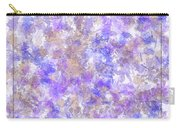 Abstract Purple Splatters Carry-all Pouch