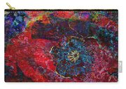 Abstract Red Poppy Carry-all Pouch