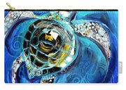 Abstract Sea Turtle In C Minor Carry-all Pouch