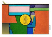 Abstract Shapes Color One Carry-all Pouch