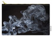 Abstract Smoke Running Horse Carry-all Pouch by Setsiri Silapasuwanchai