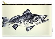 Abstract Speckled Trout Carry-all Pouch by J Vincent Scarpace