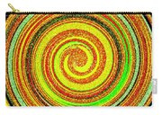Abstract Spiral Carry-all Pouch