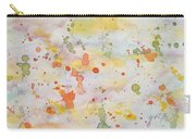 Abstract Summer Sky Watercolor Painting Carry-all Pouch