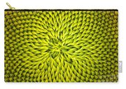 Abstract Sunflower Pattern Carry-all Pouch