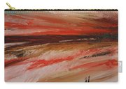 Abstract Sunset II Carry-all Pouch