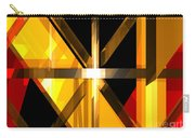 Abstract Tan 3 Carry-all Pouch