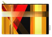 Abstract Tan 6 Carry-all Pouch