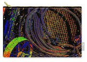 Abstract Textures Carry-all Pouch