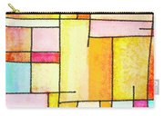 Abstract Town Carry-all Pouch by Setsiri Silapasuwanchai