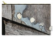 Abstract With Blue Carry-all Pouch